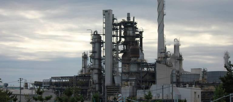 Kohlekraftwerk in Japan