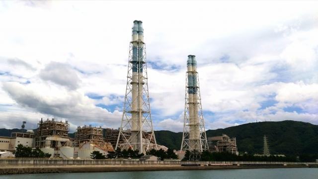 Kohlekraftwerk in Wakayama