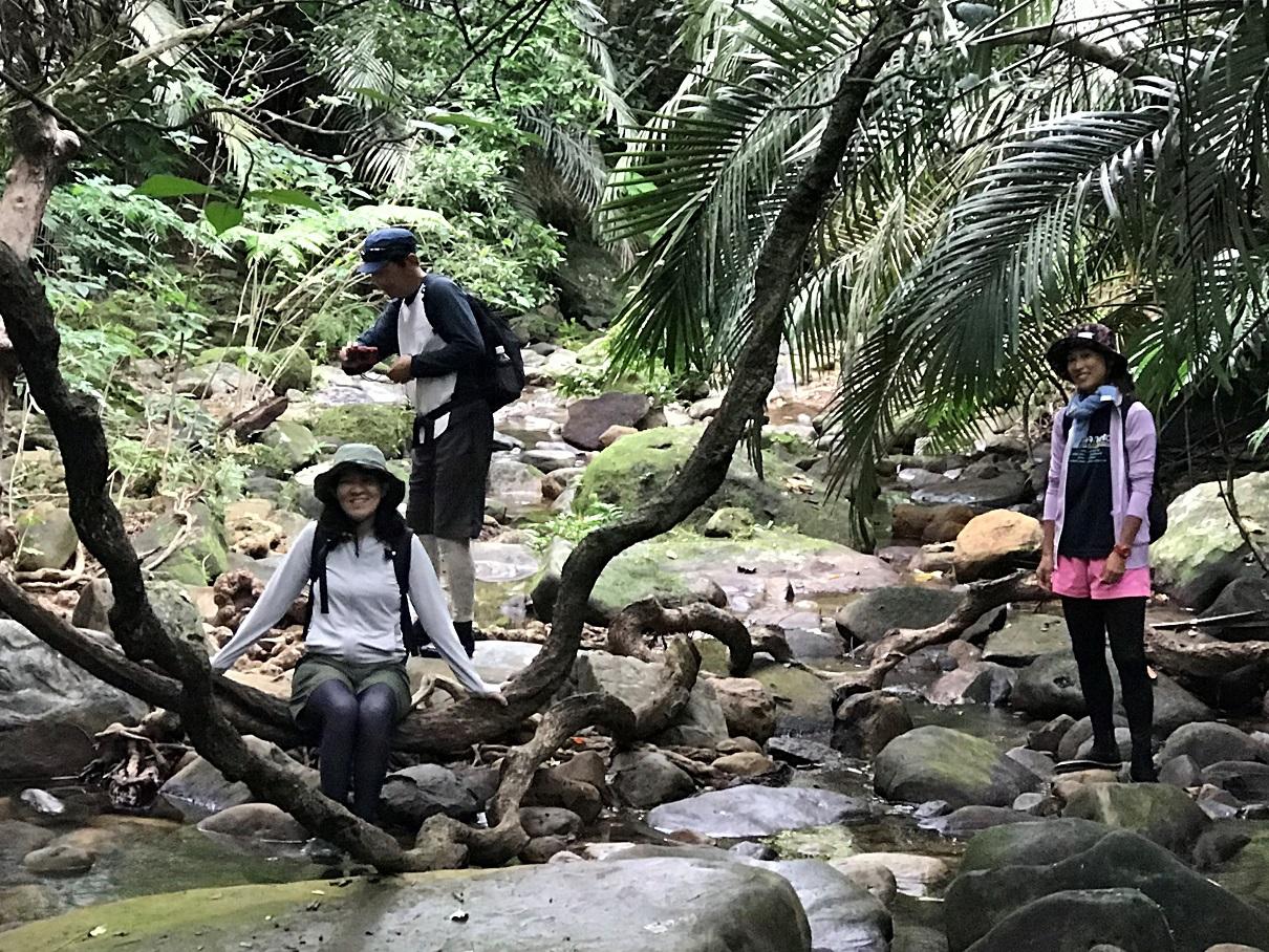Wandern auf Iriomote