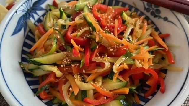 Gemüse-Kimpira