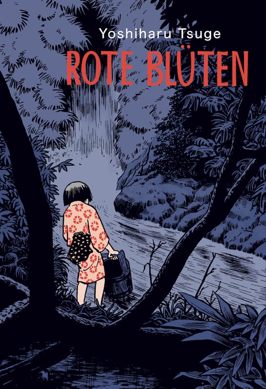 """""""Rote Blüten"""" von Yoshiharu Tsuge (Buchcover)"""