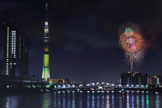 Sumida Feuerwerk