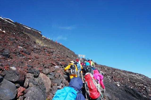 Fuji Gipfel