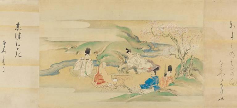 Genji Monogatari Schriftrolle