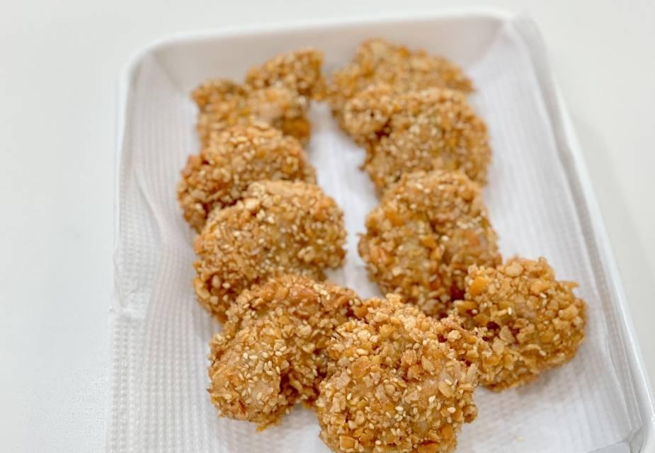 Karaage (frittiertes Hähnchen)