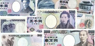 Yen Geldscheine